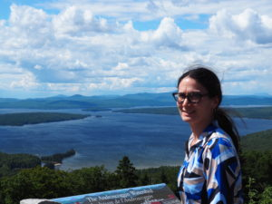 Picture of Wendy at Androscoggin